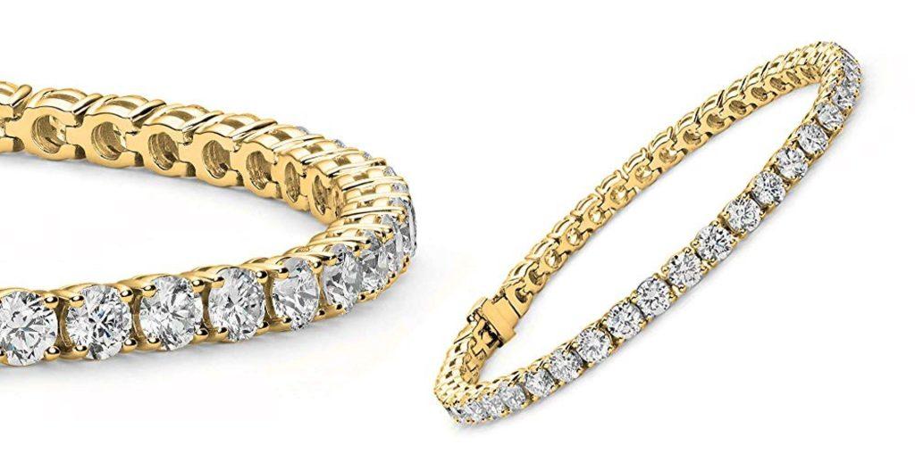 Cate-Chloe-18K-White-Gold-Plate-Tennis-Bracelet