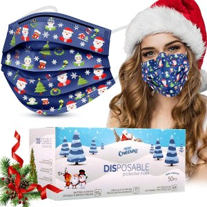 Christmas disposable face masks, disposable face masks