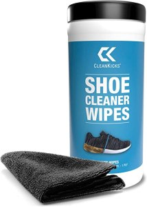 best shoe cleaner - CleanKicks Shoe Cleaner Wipes