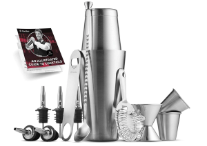 cocktail shaker bar tool set best whiskey gifts