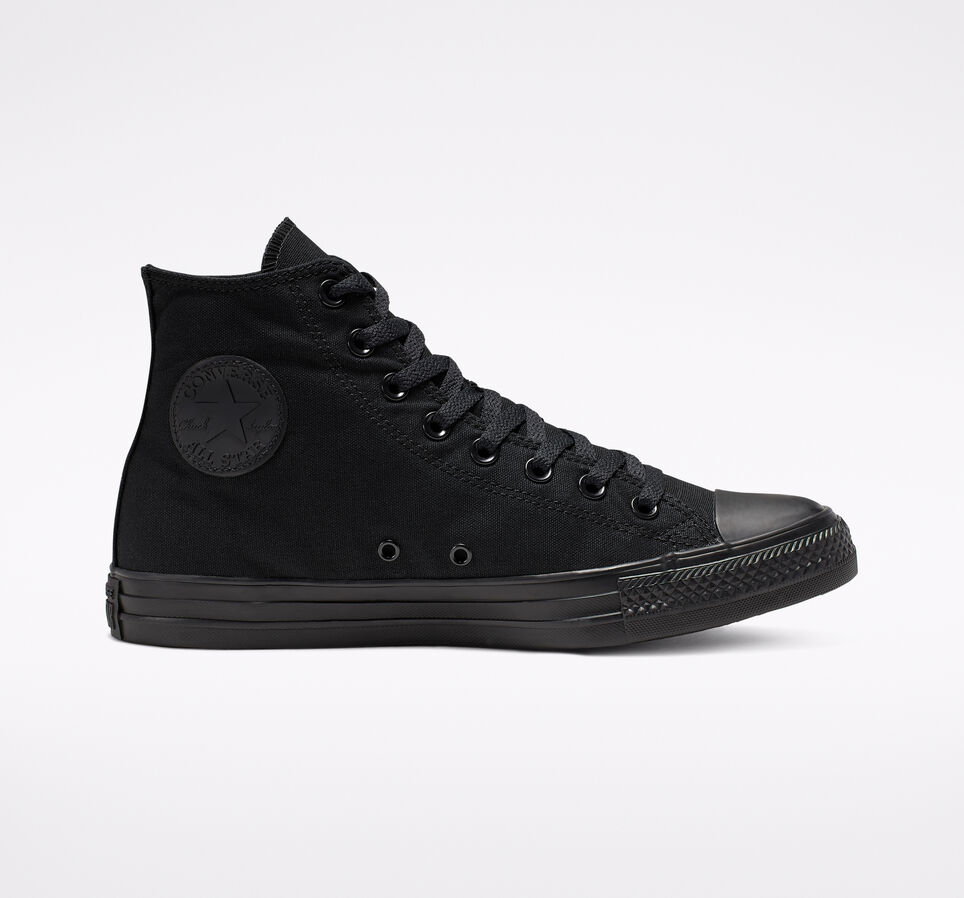 Converse Chuck Taylor All Star sneaker in all black
