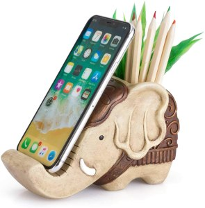 Coolbros Pencil Holder with Phone Stand