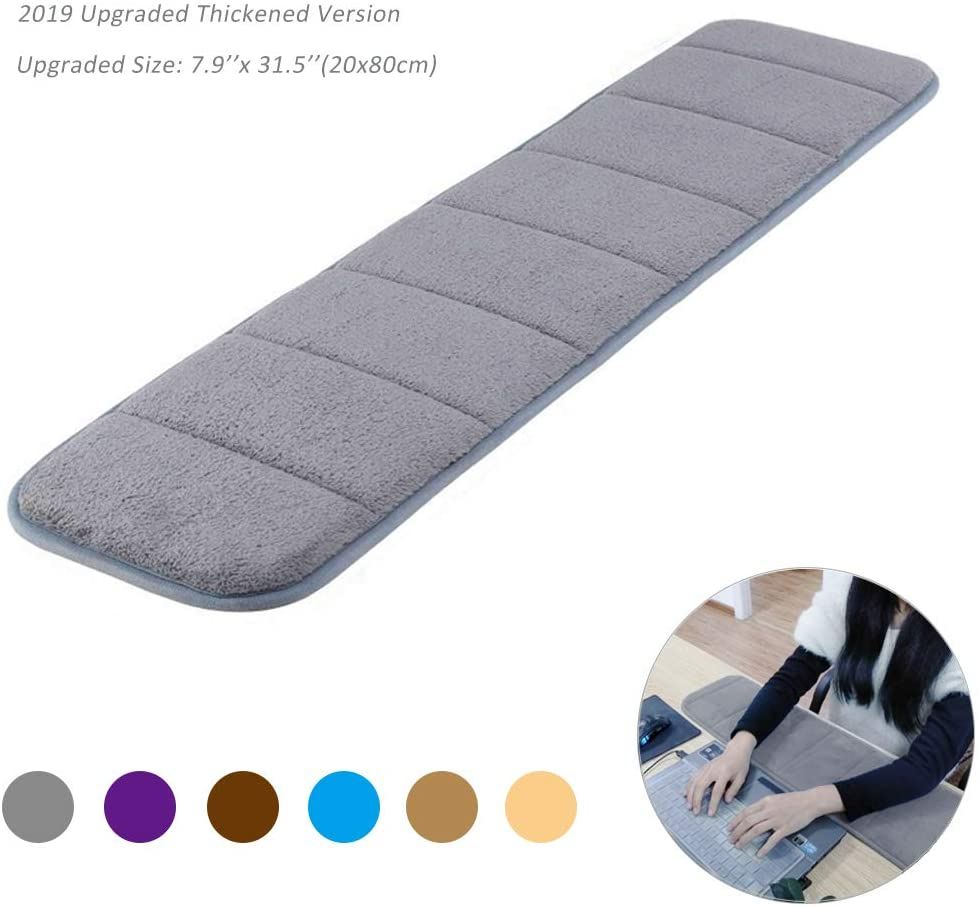 Creatiee Premium Memory Cotton Desktop Keyboard Arm Rest