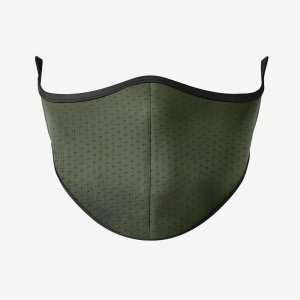 Cremoly Olive Green, face masks for running