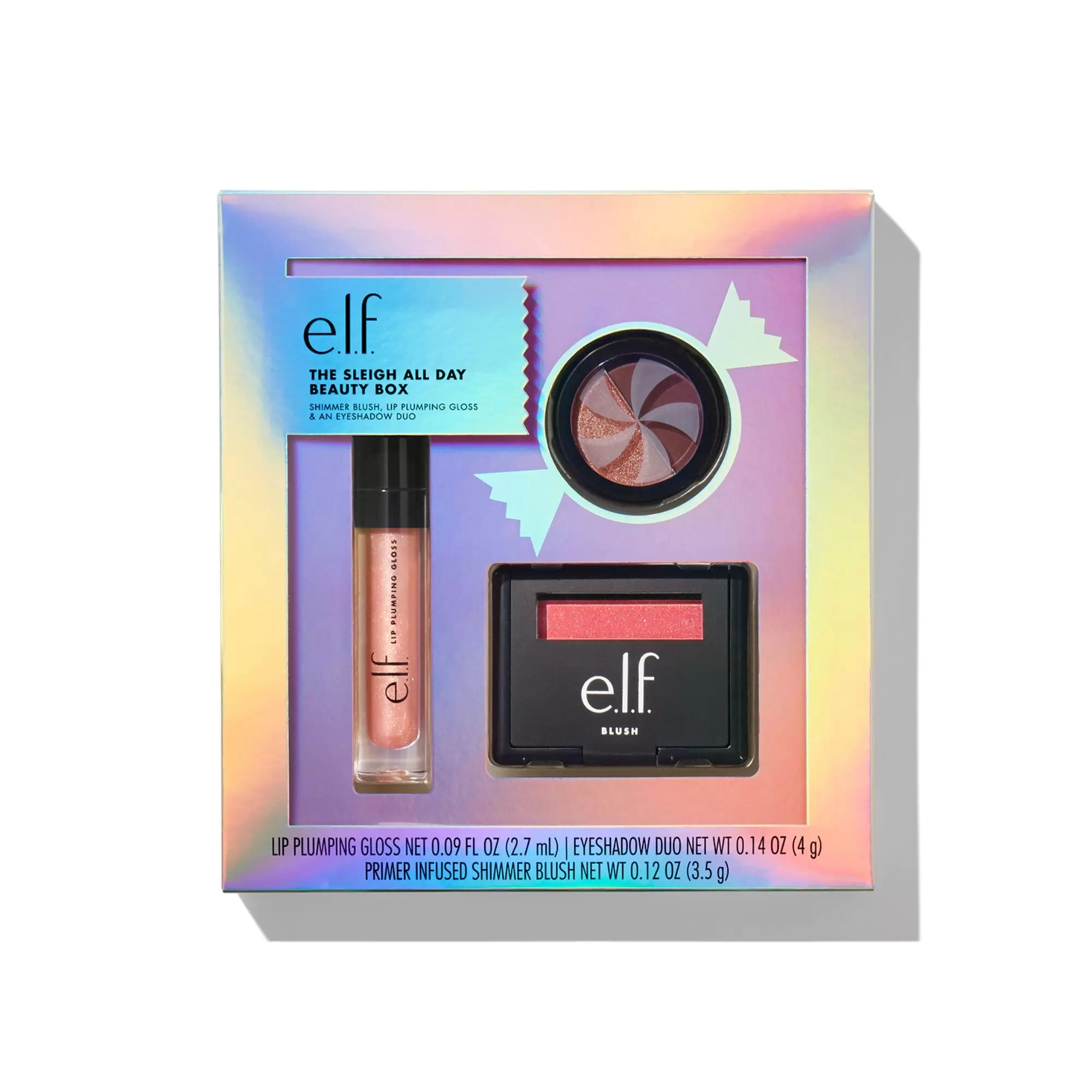 best beauty gift sets - ELF Sleigh All Day Beauty Box