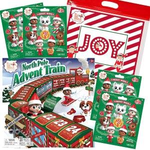 The Elf on the Shelf North Pole Advent Calendar Train