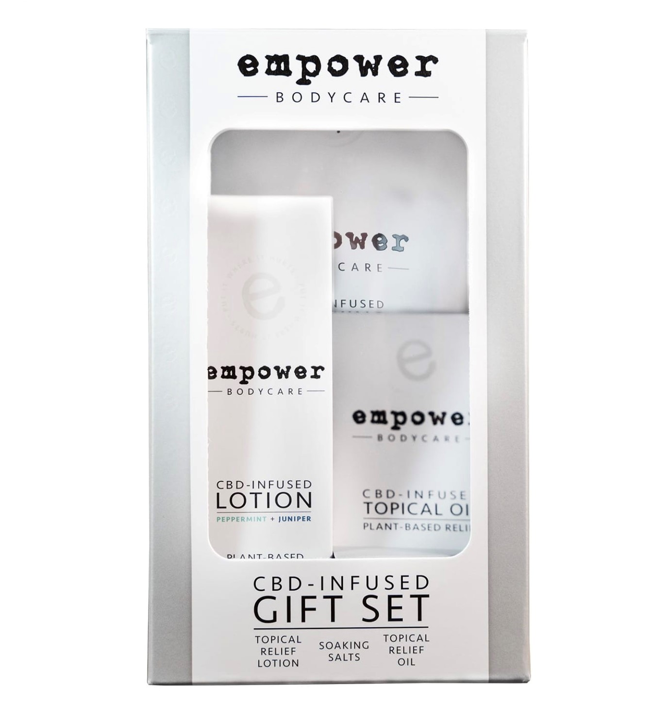 Empower Bodycare CBD-Infused Gift Set