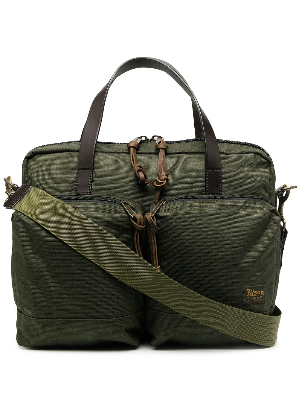 Filson-dryden-logo-patch-briefcase