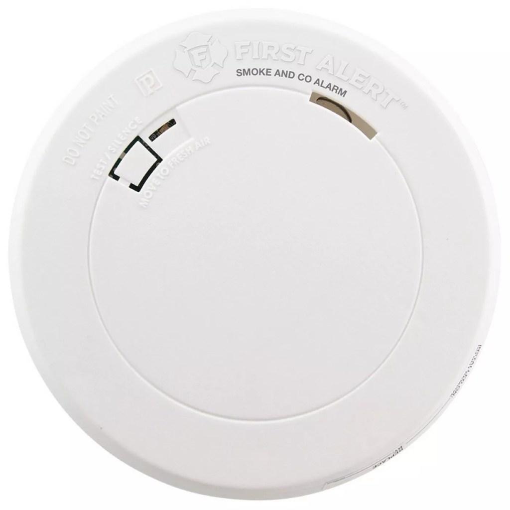First Alert PRC710 Slim Smoke & Carbon Monoxide Detector with Photelectric Sensor