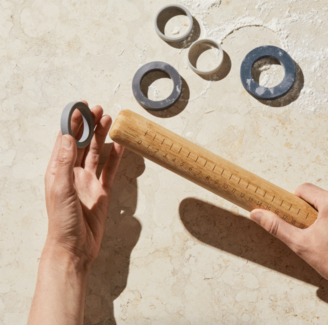 gifts for bakers five two adjustable rolling pin