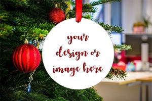 personalized christmas ornaments foreverweddingcrafts