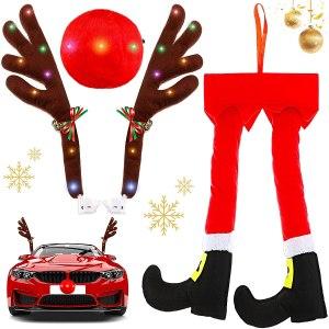 frienda car reindeer antler kit