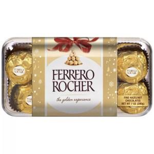 Ferrero Rocher Holiday Chocolate Gift Box