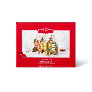 Holiday Gingerbread Row House Kit