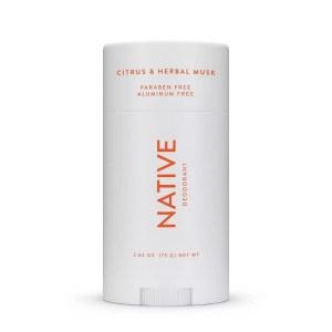 Native Citrus & Herbal Musk Deodorant