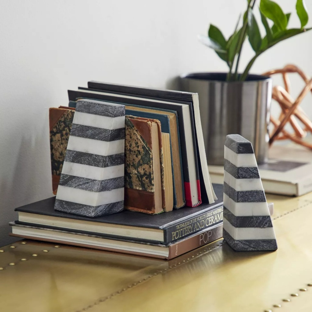 Marble Bookends from the Venus Williams Collection