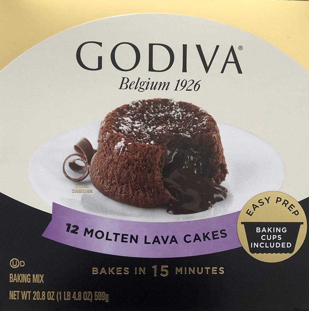 Godiva Molten Lava Cakes