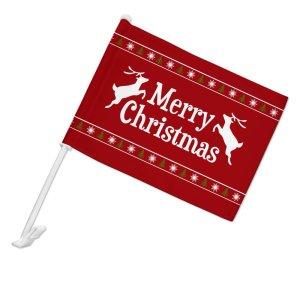 christmas car decorations - Graphics and More Merry Christmas Car Flag