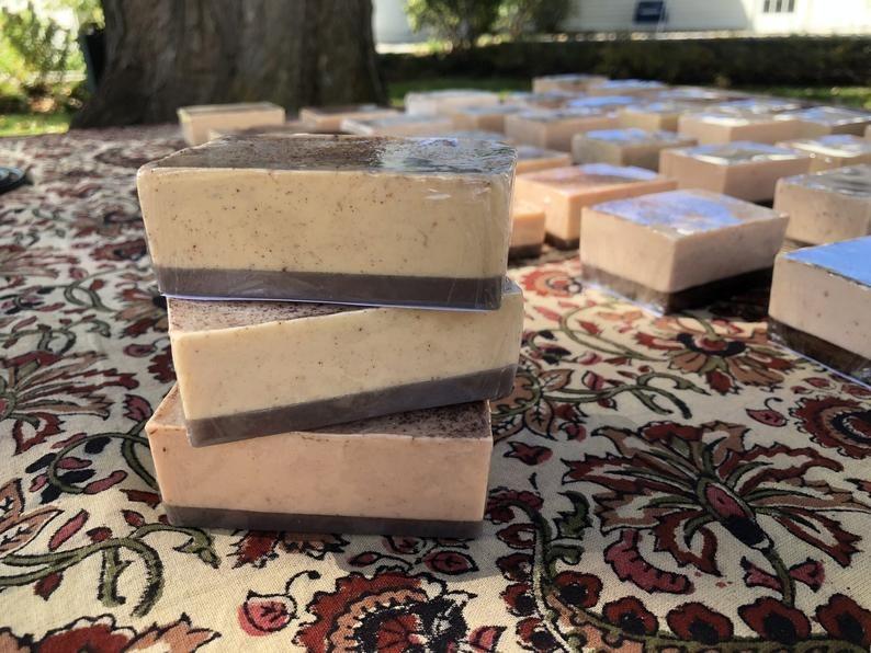 Best Etsy Gifts - Handmade Soap by Rini Bell Gilmore Girls Luke's Pumpkin Pie & Spice Soap