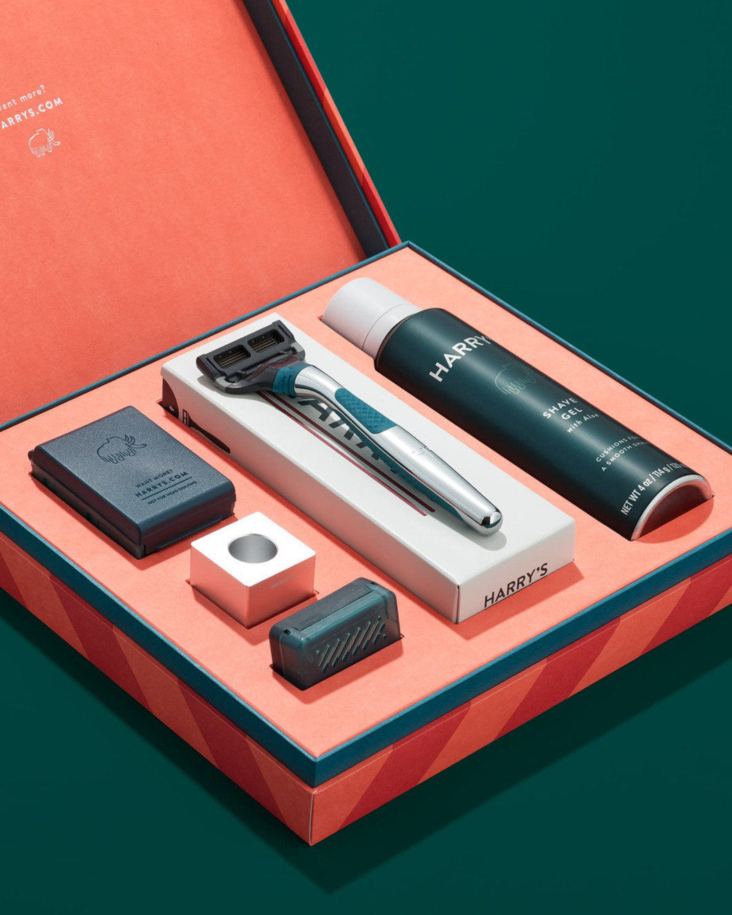 Harry's Holiday Winston Gift Set in an orange box