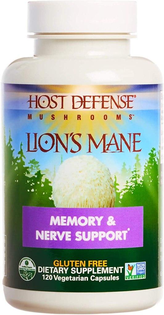 Host Defense Lions Mane Capsules