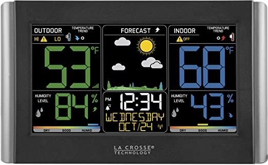 best indoor outdoor thermometers - La Crosse Technology V10-TH
