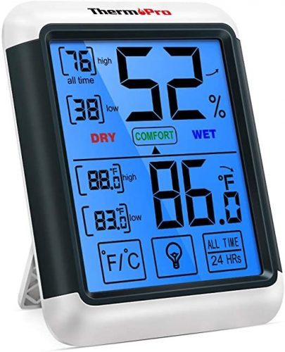 indoor outdoor thermometer - Thermo Pro TP55 Digital Thermometer