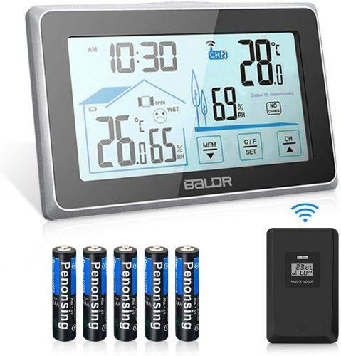 indoor outdoor thermometer BALDR