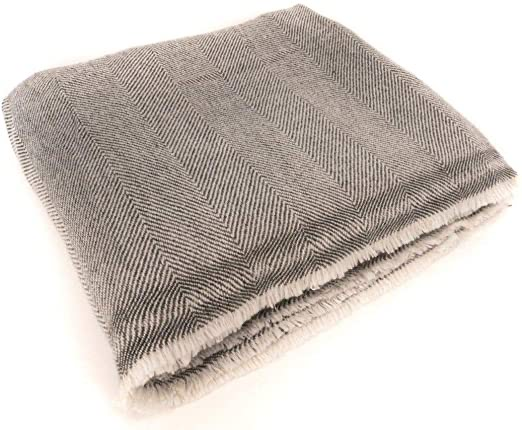 cashmere and wool blanket