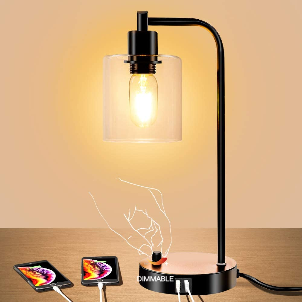 Industrial table lamp, gifts for him, best gifts for him