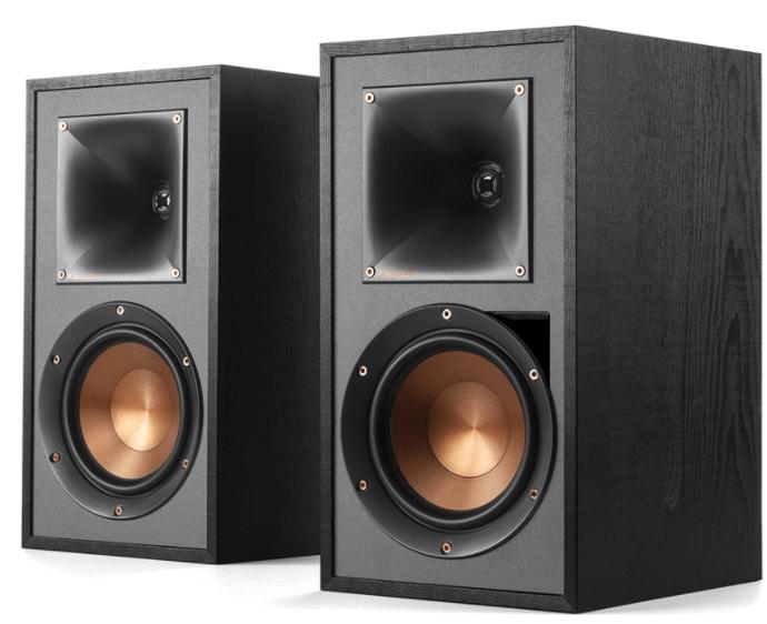 klipsch r-51pm powered bookshelf speakers