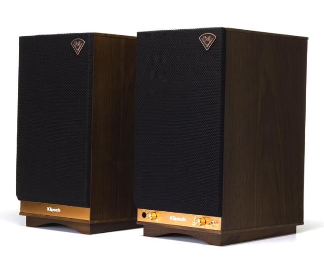 klipsch the sixes bookshelf speakers