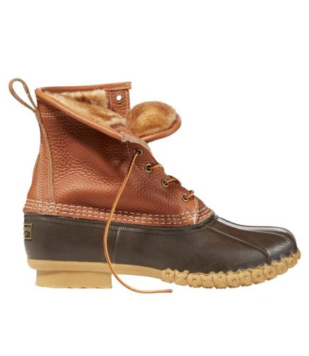 best men's winter boots - L.L.Bean Shearling Winter Bean Boot