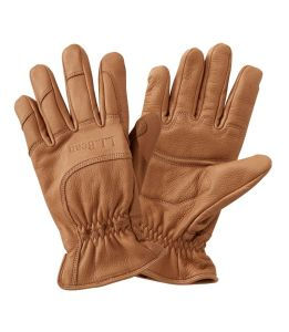 L.L.Bean deerskin gloves, best men's winter gloves