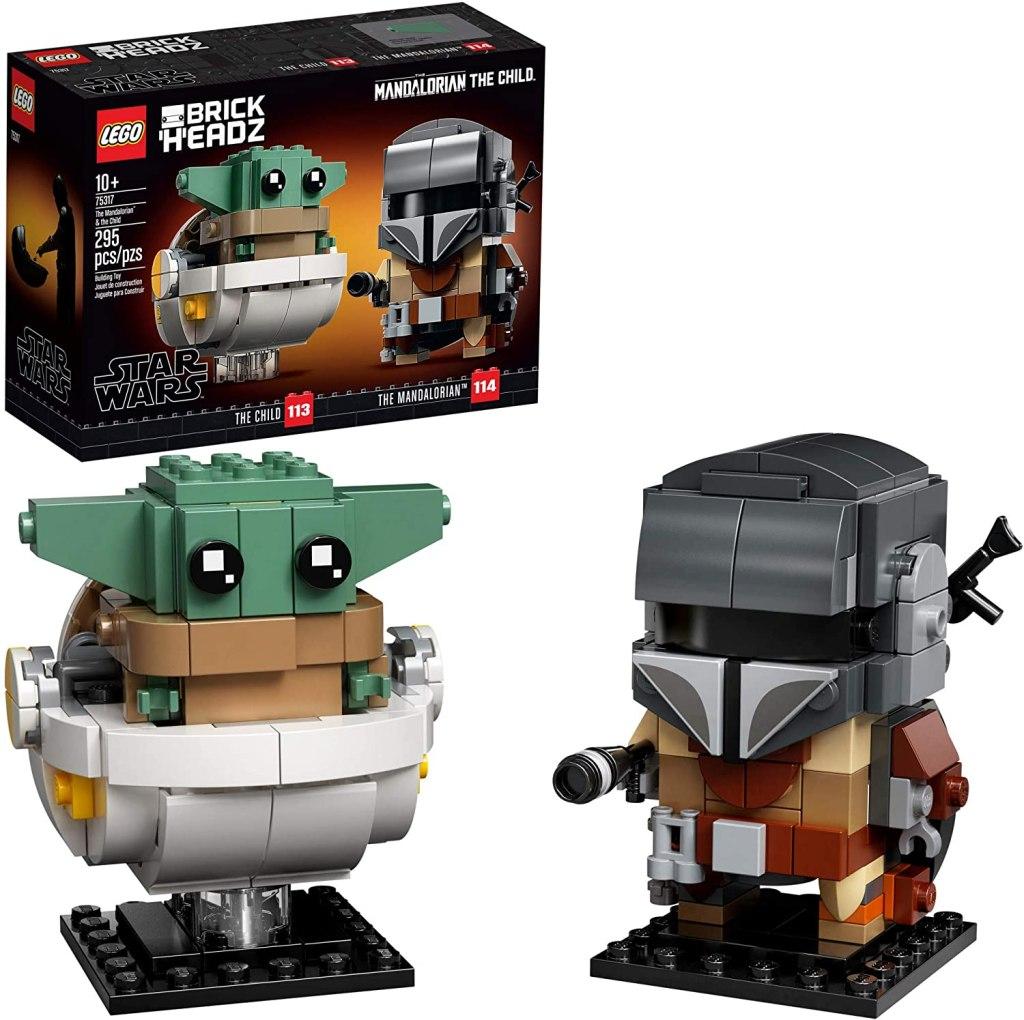 LEGO BrickHeadz Star Wars The Mandalorian & The Child