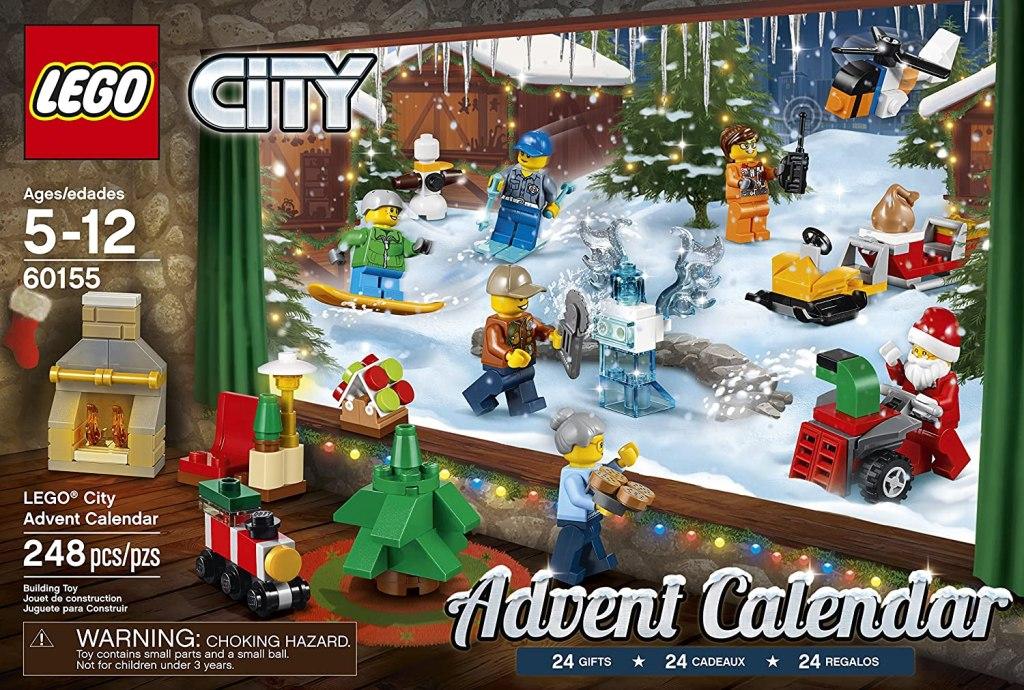 best Advent Calendars for Kids - LEGO City Advent Calendar Building Kit