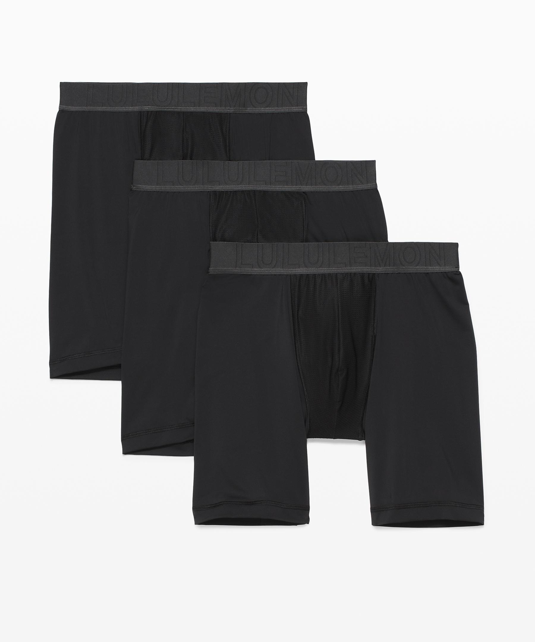 lululemon black friday deals: black spandex boxer briefs