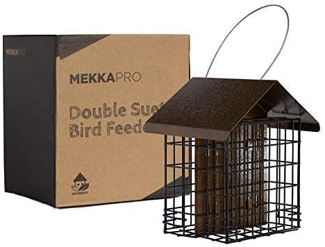 best bird feeders - MEKKAPRO Suet Wild Bird Feeder