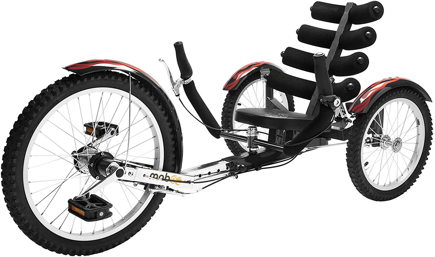 Mobo Shift adult tricycle with adjustable recumbent seat
