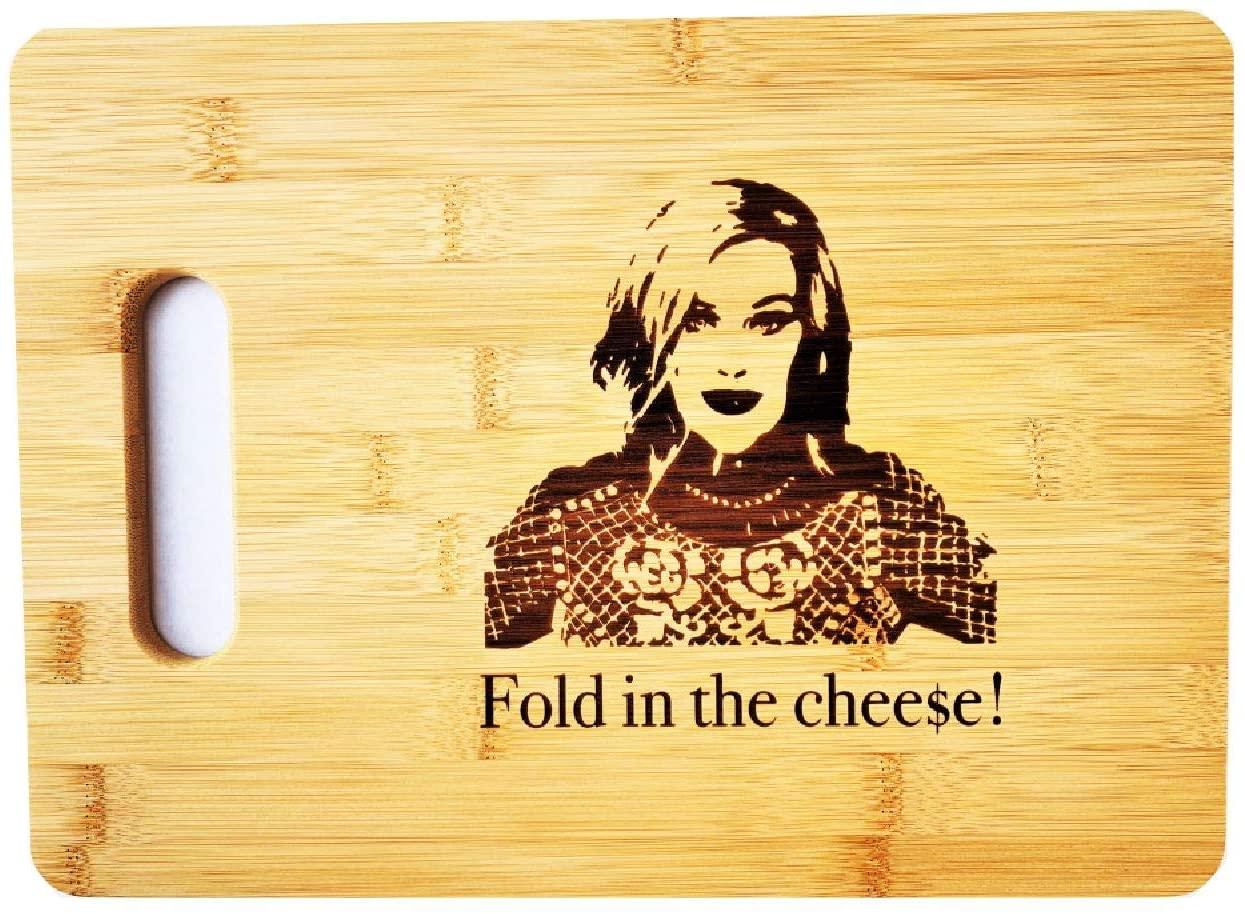 Moira-Fold-in-the-Cheese-Bamboo-Cutting-Board, schitt's creek gifts