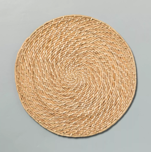 thanksgiving decor dining table holiday centerpieces natural woven plate