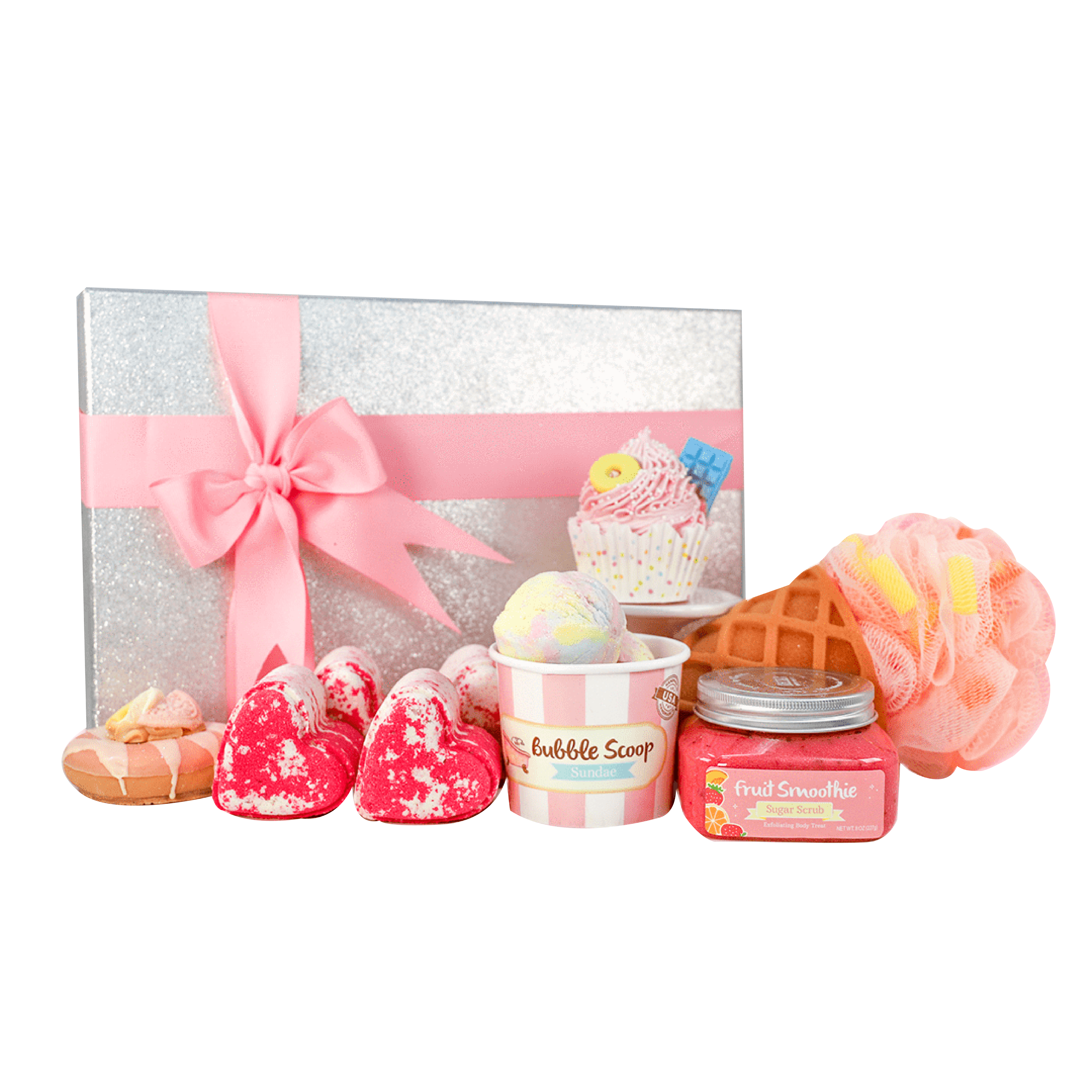 Nectar Bath Treats Sweet and Bubbly bath set
