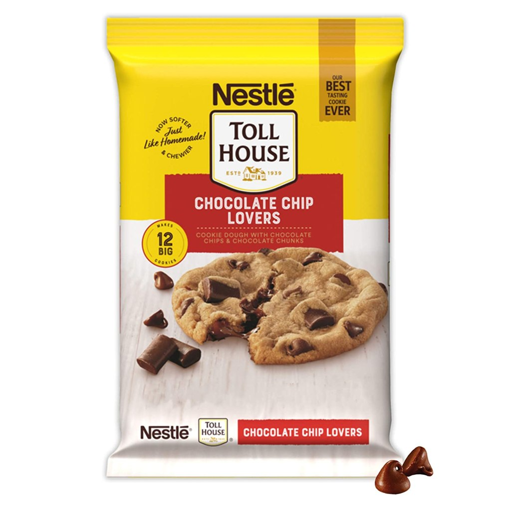 Nestle Toll House Chocolate Chip Lovers Cookie Dough