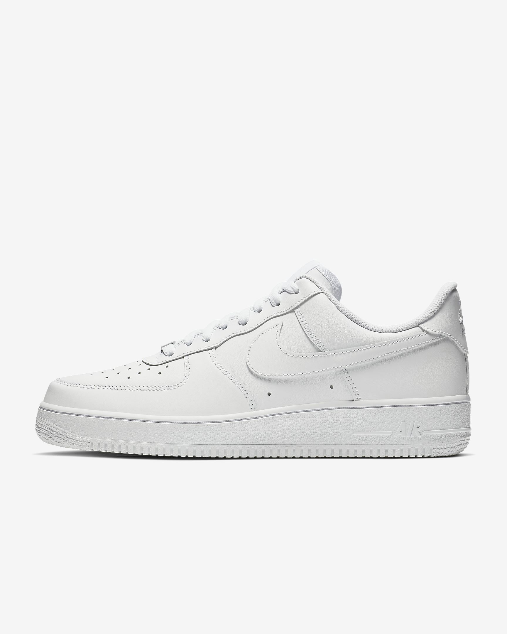 Nike Air Force 1 sneaker in white