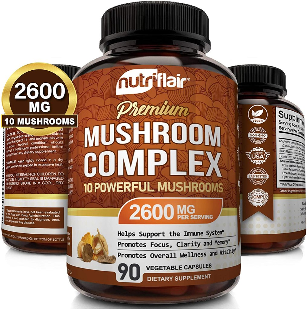 Turkey Tail Mushroom Supplement by NutriFlair
