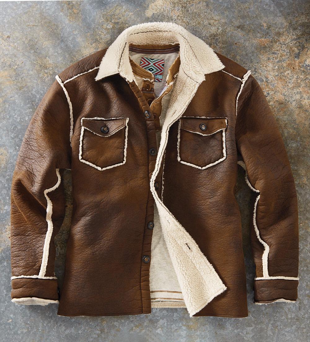 Patrick-James-True-Grit-Vintage-Faux-Leather-Jacket