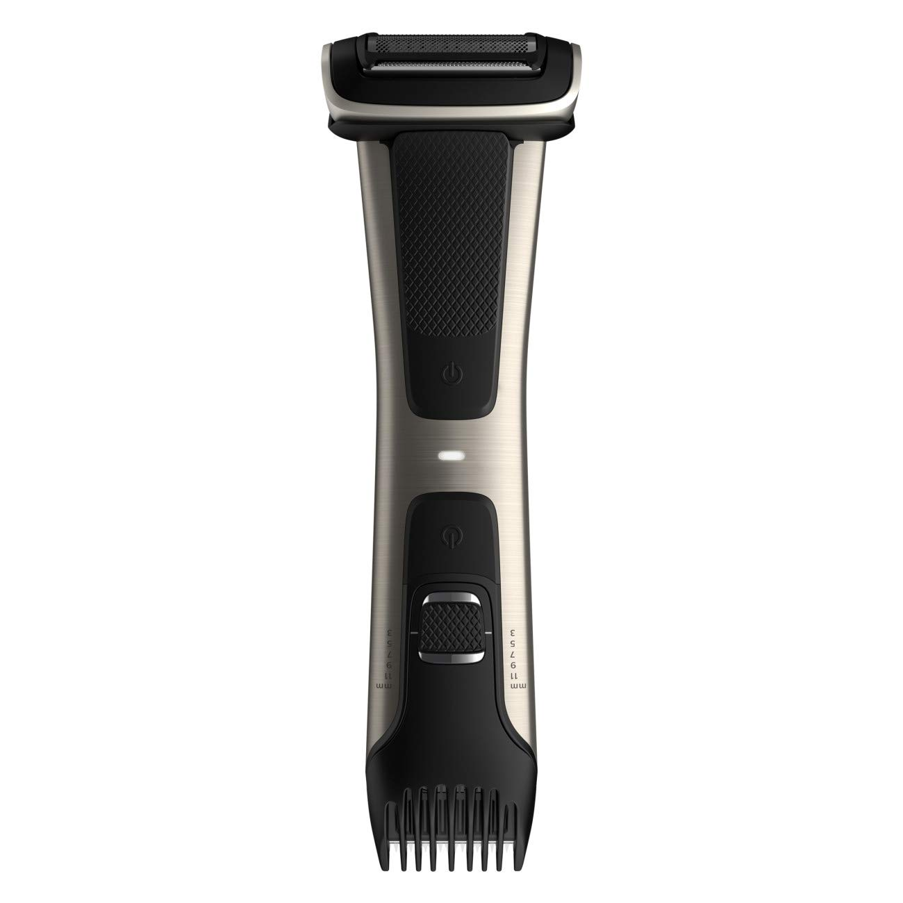 Philips Norelco Bodygroom Series 7000 Body Trimmer and Shaver; how to manscape