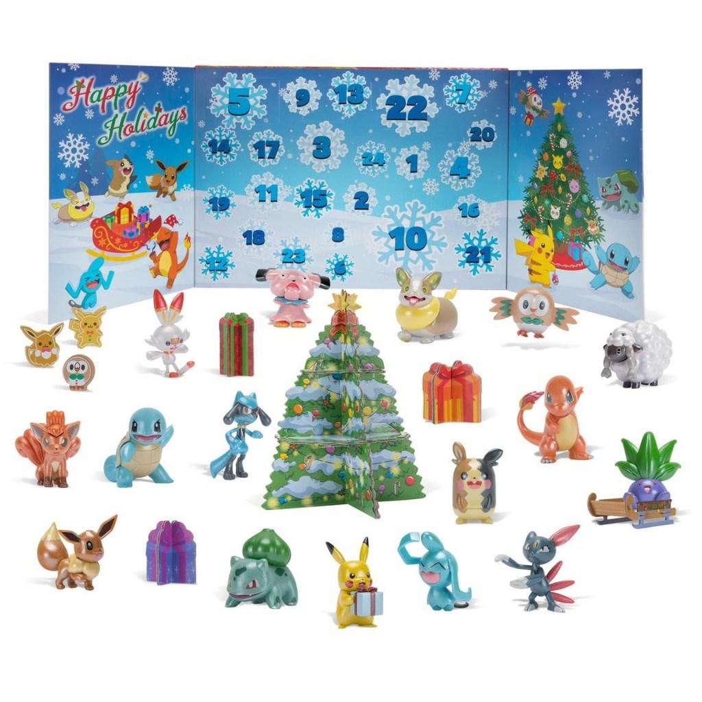 Pokémon 24 Battle Figure Pack 2021 Holiday Advent Calendar
