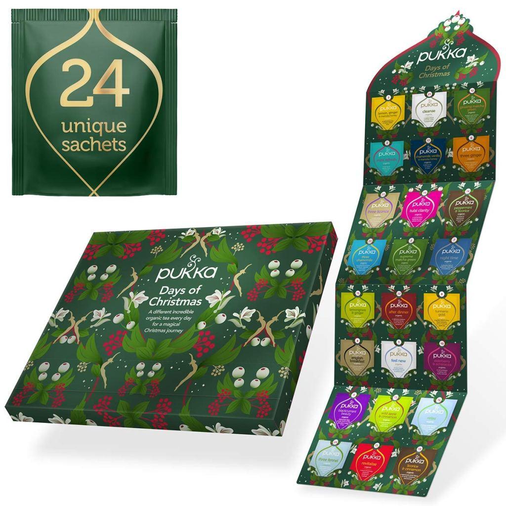 Pukka Herbs Tea Advent Calendar for adults 2021