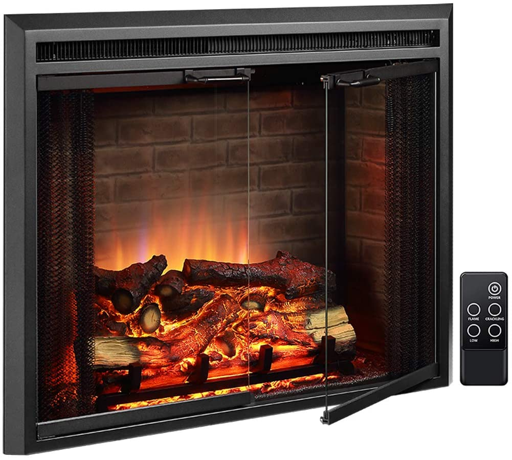 best electric fireplace - PureFlame Klaus electric flireplace insert